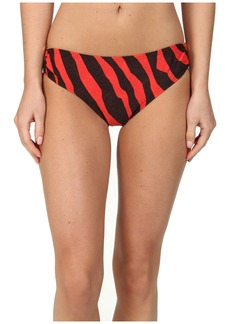 MICHAEL Michael Kors Ghanzi Zebra Logo Ring Bottom