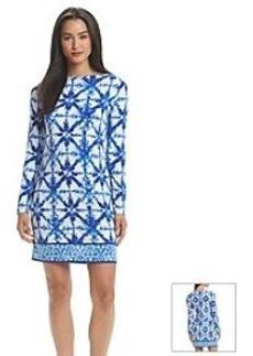MICHAEL Michael Kors® Glazed Tile Border Dress