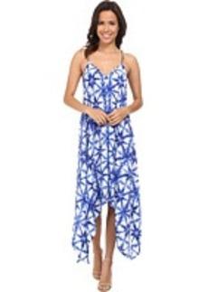 MICHAEL Michael Kors Glazed Tile Hi Lo Dress