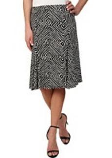 MICHAEL Michael Kors Godet Panel Matte Jersey Skirt