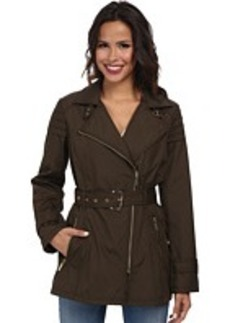 MICHAEL Michael Kors Gold Hardware Coat