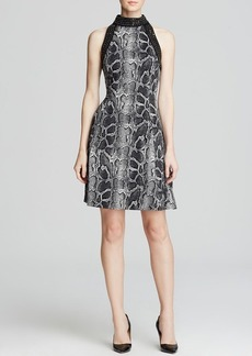 MICHAEL Michael Kors Greenwood Python Print Dress