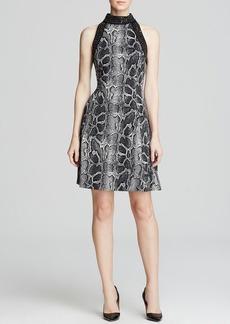 MICHAEL Michael Kors Greenwood Python Print Dress