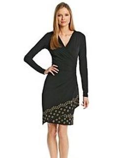MICHAEL Michael Kors® Grommet Hem Wrap Dress
