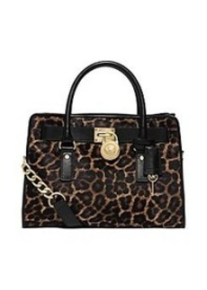 MICHAEL Michael Kors® Hamilton Calf Hair and Leather Satchel