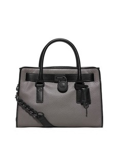 MICHAEL Michael Kors Hamilton French-Binding Satchel Bag