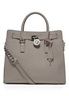 MICHAEL MICHAEL KORS Hamilton Large Leather Tote Bag