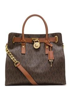 MICHAEL Michael Kors Hamilton Large MK Logo Tote Bag