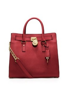 MICHAEL Michael Kors Hamilton Large Saffiano Tote Bag, Red