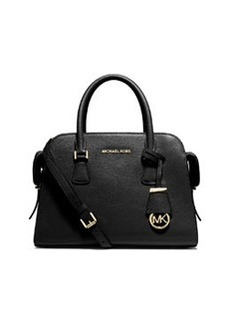 MICHAEL Michael Kors Harper Medium Satchel Bag, Black