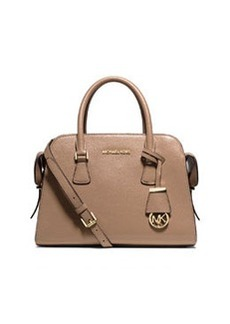 MICHAEL Michael Kors Harper Medium Satchel Bag, Dark Khaki