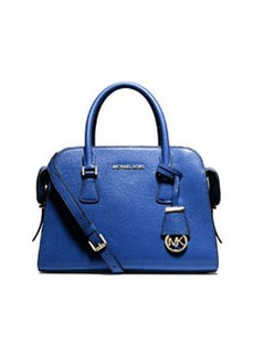 MICHAEL Michael Kors Harper Medium Satchel Bag, Electric Blue