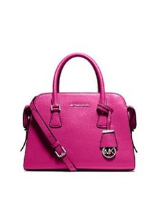 MICHAEL Michael Kors Harper Medium Satchel Bag, Raspberry