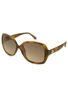 MICHAEL Michael Kors Havana rectangular plastic Cassidy sunglasses