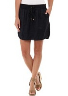 MICHAEL Michael Kors Hi Low Skirt w/ Binding
