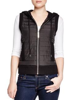 MICHAEL Michael Kors Hooded Puffer Vest