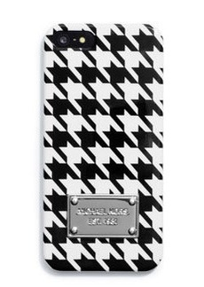 MICHAEL Michael Kors Houndstooth Phone Cover