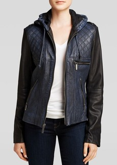 MICHAEL Michael Kors Jacket - Colorblock Quilted