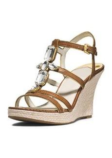 MICHAEL Michael Kors Jayden Jeweled Wedge Sandal