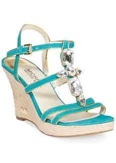 MICHAEL Michael Kors Jayden Platform Wedge Sandals