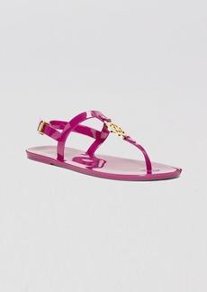 MICHAEL Michael Kors Jelly Flat Thong Sandals - MK Sondra