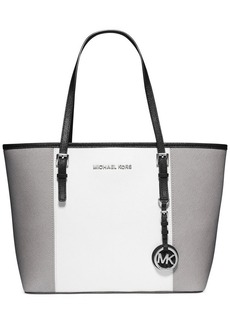 MICHAEL Michael Kors Jet Set Center Stripe Small Travel Tote