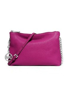 MICHAEL Michael Kors Jet Set Chain Messenger Bag, Fuchsia