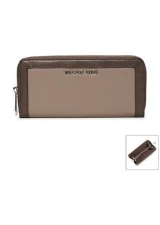 MICHAEL Michael Kors® Jet Set Frame Out Leather Continental Wallet