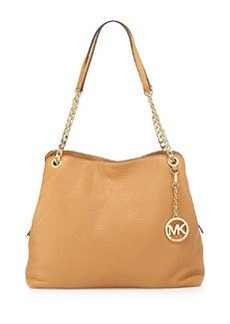 MICHAEL Michael Kors Jet Set Large Chain Shoulder Tote Bag, Peanut