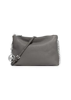 MICHAEL MICHAEL KORS Jet Set Leather Chain Messenger Bag