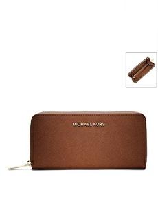 MICHAEL Michael Kors® Jet Set Leather Continental Wallet