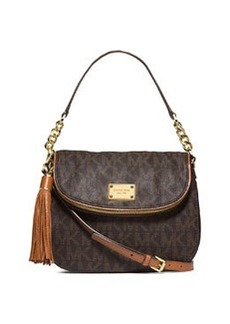 MICHAEL Michael Kors Jet Set Medium Convertible Shoulder Bag with Tassel, Brown