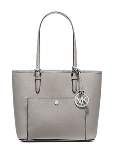MICHAEL MICHAEL KORS Jet Set Medium Crosshatch Leather Tote