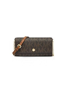 MICHAEL Michael Kors Jet Set MK Travel Wallet-on-Chain, Brown
