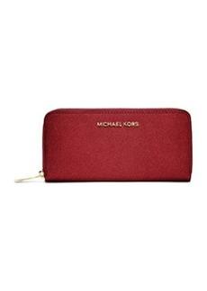 MICHAEL Michael Kors Jet Set Saffiano Continental Wallet