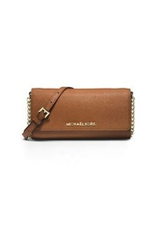 MICHAEL Michael Kors Jet Set Saffiano Travel Wallet-on-Chain, Luggage