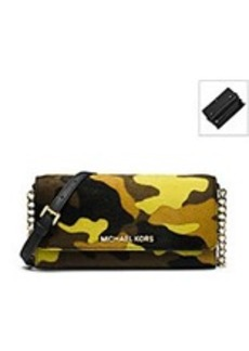 MICHAEL Michael Kors® Jet Set Travel Camo Wallet On A Chain