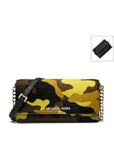 MICHAEL Michael Kors® Jet Set Travel Camo Wallet On A Chain