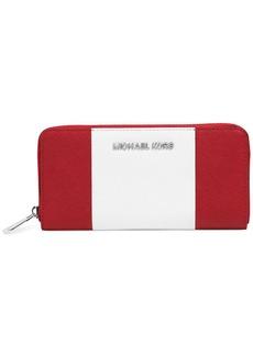 MICHAEL Michael Kors Jet Set Travel Center Stripe Zip Around Continental Wallet