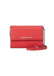 MICHAEL Michael Kors Jet Set Travel Crossbody Phone Case/Wallet, Chili