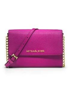 MICHAEL Michael Kors Jet Set Travel Large Crossbody Bag, Fuchsia