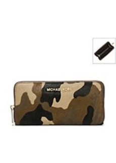 MICHAEL Michael Kors® Jet Set Travel Zip-Around Camo Continental