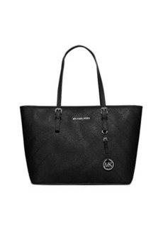 MICHAEL Michael Kors Jet Set Travel Zip-Top Quilted Saffiano Tote Bag