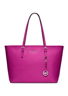 MICHAEL Michael Kors Jet Set Zip-Top Tote Bag, Fuchsia