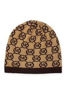 MICHAEL Michael Kors Jetset Logo-Print Skull Hat