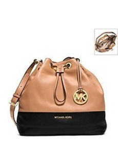 MICHAEL Michael Kors® Jules Drawstring Leather Large Shoulder Bag