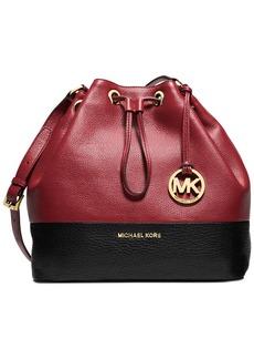 MICHAEL Michael Kors Jules Large Colorblock Drawstring Shoulder Bag