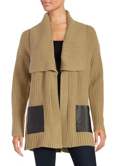 MICHAEL MICHAEL KORS Knit Open-Front Sweater