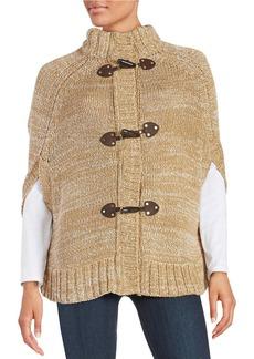 MICHAEL MICHAEL KORS Knit Toggle Cape