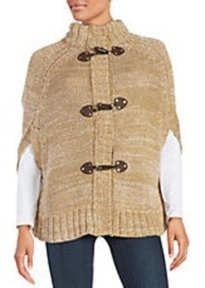 MICHAEL MICHAEL KORS Knit Toggle Cape